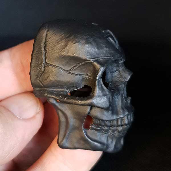 Swashdrive Brush Skull Side view